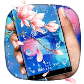 Colorful Water Drop Flower Theme