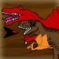 Dino Ship Scrolling Shooter