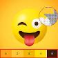 Emoji Color By Number, emojis face game, emoji art