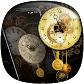 Pendulum Vintage Clock Live Wallpaper