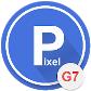 Pixel Dark Theme for LG G7 V35 ThinQ
