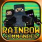 Rainbow Commander – Counter Terrorist Multiplayer Mini Game (FPS)