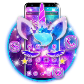 Shiny Galaxy Cute Unicorn Theme