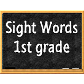 Sight Words 1st grade