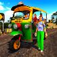Tuk Tuk Kids School Auto Rickshaw Driver